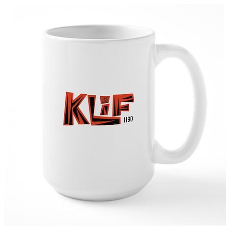 KLIF Dallas 1968 - Large Mug