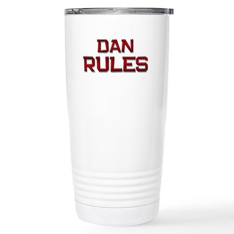 dan rules Stainless Steel Travel Mug