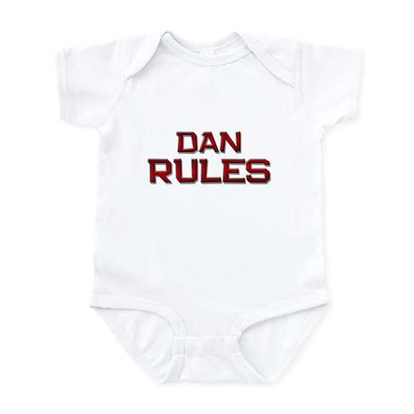 dan rules Infant Bodysuit