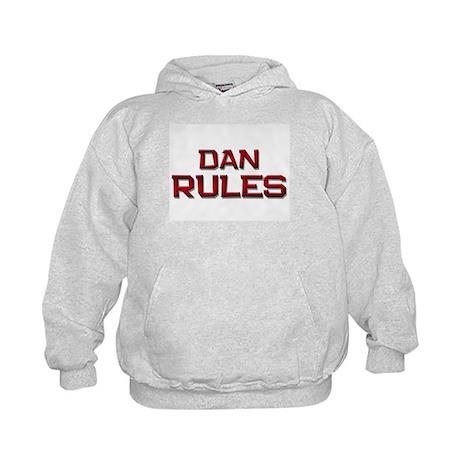 dan rules Kids Hoodie