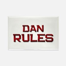 dan rules Rectangle Magnet