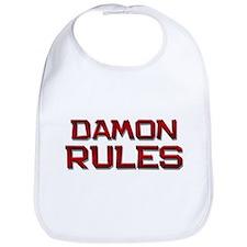 damon rules Bib