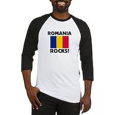 Romania Rocks Baseball Jersey