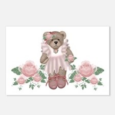 Beary Rosy Postcards (Package of 8)