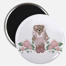 Beary Rosy Magnet