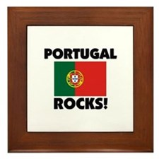 Portugal Rocks Framed Tile