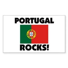Portugal Rocks Rectangle Decal
