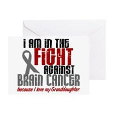 In The Fight Granddaughter Brain Cancer Greeting C