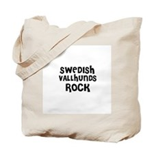 SWEDISH VALLHUNDS ROCK Tote Bag