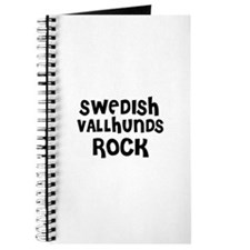 SWEDISH VALLHUNDS ROCK Journal