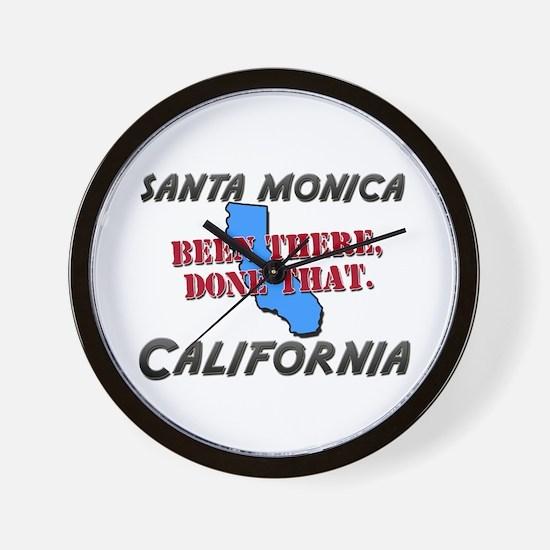 santa monica california - been there, done that Wa