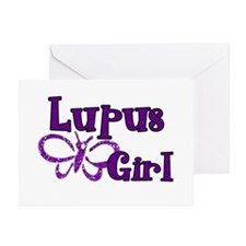 Lupus Girl Greeting Cards (Pk of 20)