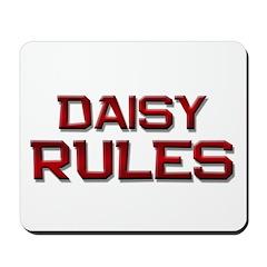 daisy rules Mousepad
