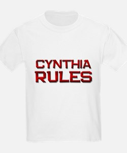cynthia rules T-Shirt