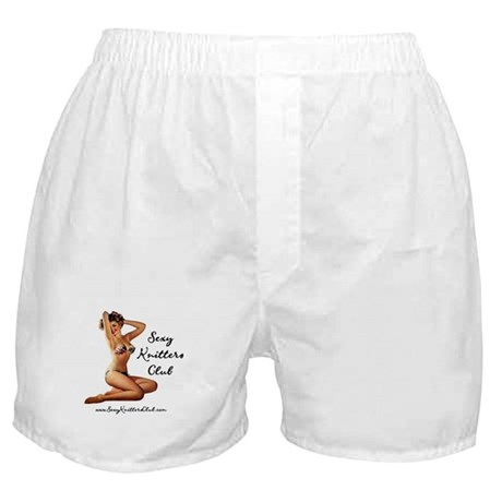 Sexy Knitters Club Boxer Shorts