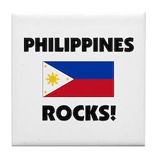 Philippines Rocks Tile Coaster