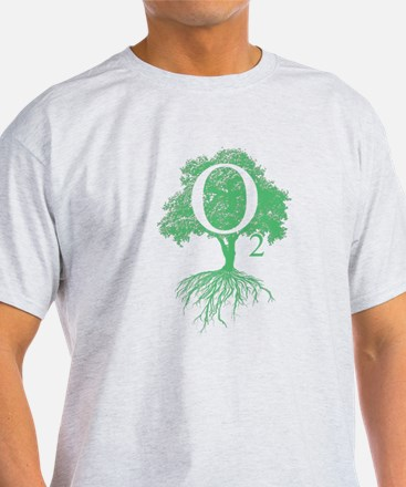 3-o2tree.psd T-Shirt
