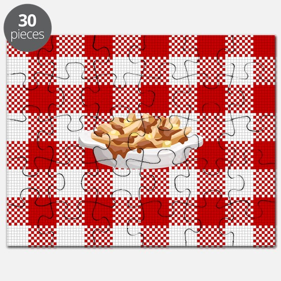Unique Gravy and fries Puzzle