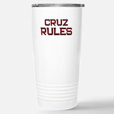 cruz rules Travel Mug