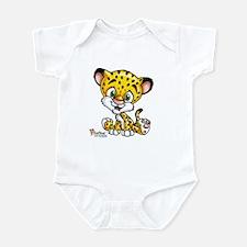 Cute Jaguar drawing Infant Bodysuit