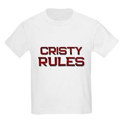 cristy rules T-Shirt