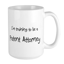 I'm training to be a Patent Attorney Mug