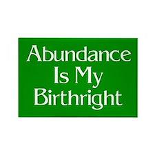 Abundance Is My Birthright Magnet