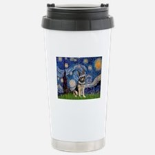 Starry / German Shepherd 10 Travel Mug