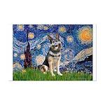 Starry / German Shepherd 10 Mini Poster Print