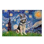 Starry / German Shepherd 10 Postcards (Package of