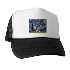 Starry / German Shepherd 10 Trucker Hat