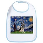 Starry / German Shepherd 10 Bib