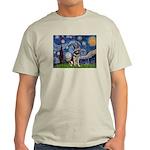 Starry / German Shepherd 10 Light T-Shirt