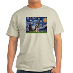 Starry / German Shepherd 10 T-Shirt