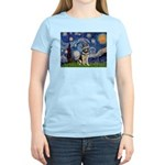 Starry / German Shepherd 10 Women's Light T-Shirt