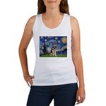 Starry / German Shepherd 10 Women's Tank Top
