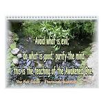 Buddhist and Zen Meditation Wall Calendar