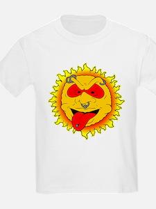 Body Piercing Sun Tattoo T-Shirt
