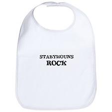 STABYHOUNS ROCK Bib