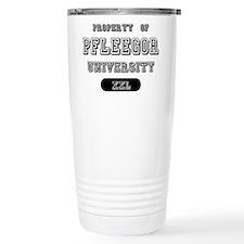 Property of Pfleegor University Travel Mug
