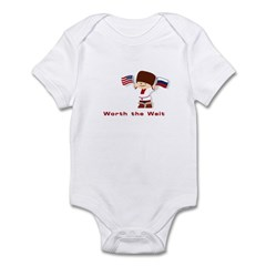 Russia, Worth the Wait Infant Bodysuit