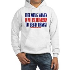 FREE MEN & WOMEN DON'T ASK PERMISSION Hoodie