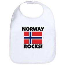 Norway Rocks Bib