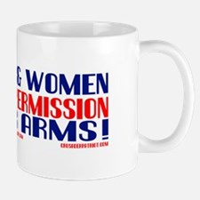 FREE MEN & WOMEN DON'T ASK PERMISSION Mug