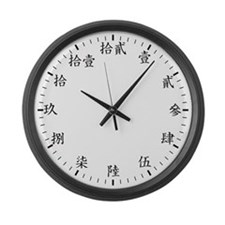 Traditional Chinese Large Wall Clock