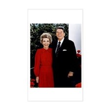 Ronnie and Nancy Rectangle Decal