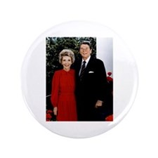 "Ronnie and Nancy 3.5"" Button"