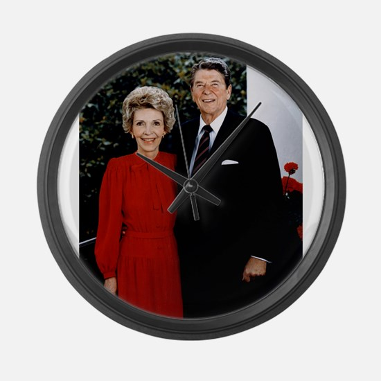 Ronnie and Nancy Large Wall Clock