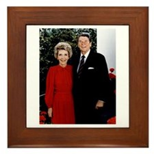 Ronnie and Nancy Framed Tile