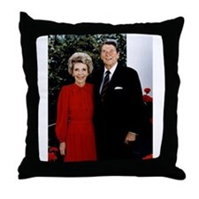 Ronnie and Nancy Throw Pillow